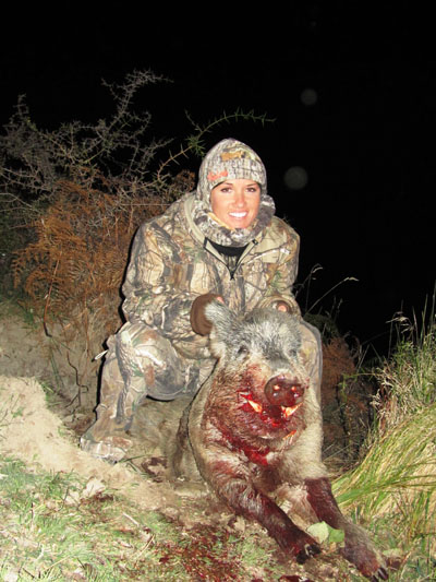 boar hunting trips in newzealand with best outfitter spey