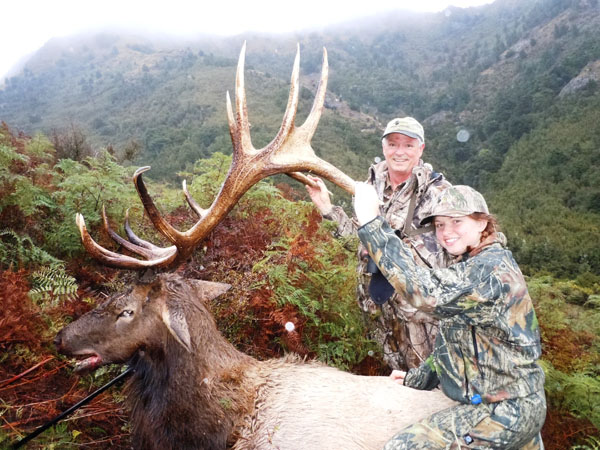 Elk Hunting Wapiti Hunting New Zealand Trophy Elk Hunts